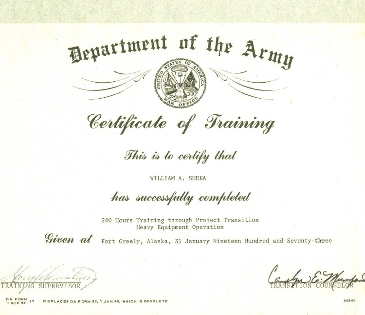 Army Certificate Of Completion Template 9 Templates Example Templates Example Train Template Certificate Templates Certificate Of Completion Template