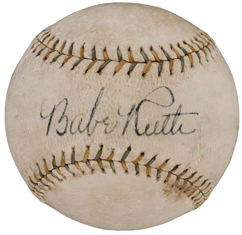 Yankees Babe Ruth Signed Autographed Babe Ruth Day Baseball Jsa Authentic Babe Ruth Babe Ruth Autograph Jsa