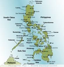 Advice About Traveling To The Philippines Philippine Map Cebu Philippines