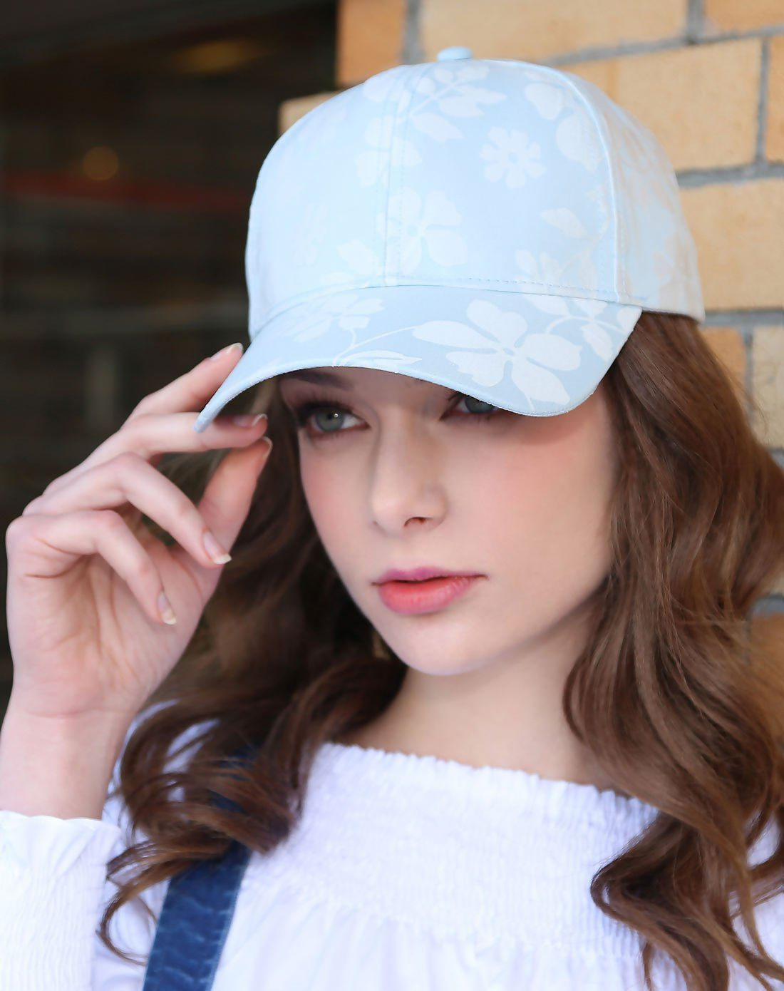 5753e238866 VIPshop Blue Women's Hat & Cap ❤ Get more outfit ideas and style ...