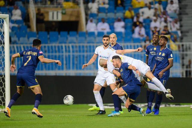 مشاهدة مباراة النصر والفيصلي بث مباشر اليوم السبت 7 3 2020 في الدوري السعودي In 2020 Soccer Field Soccer Sports