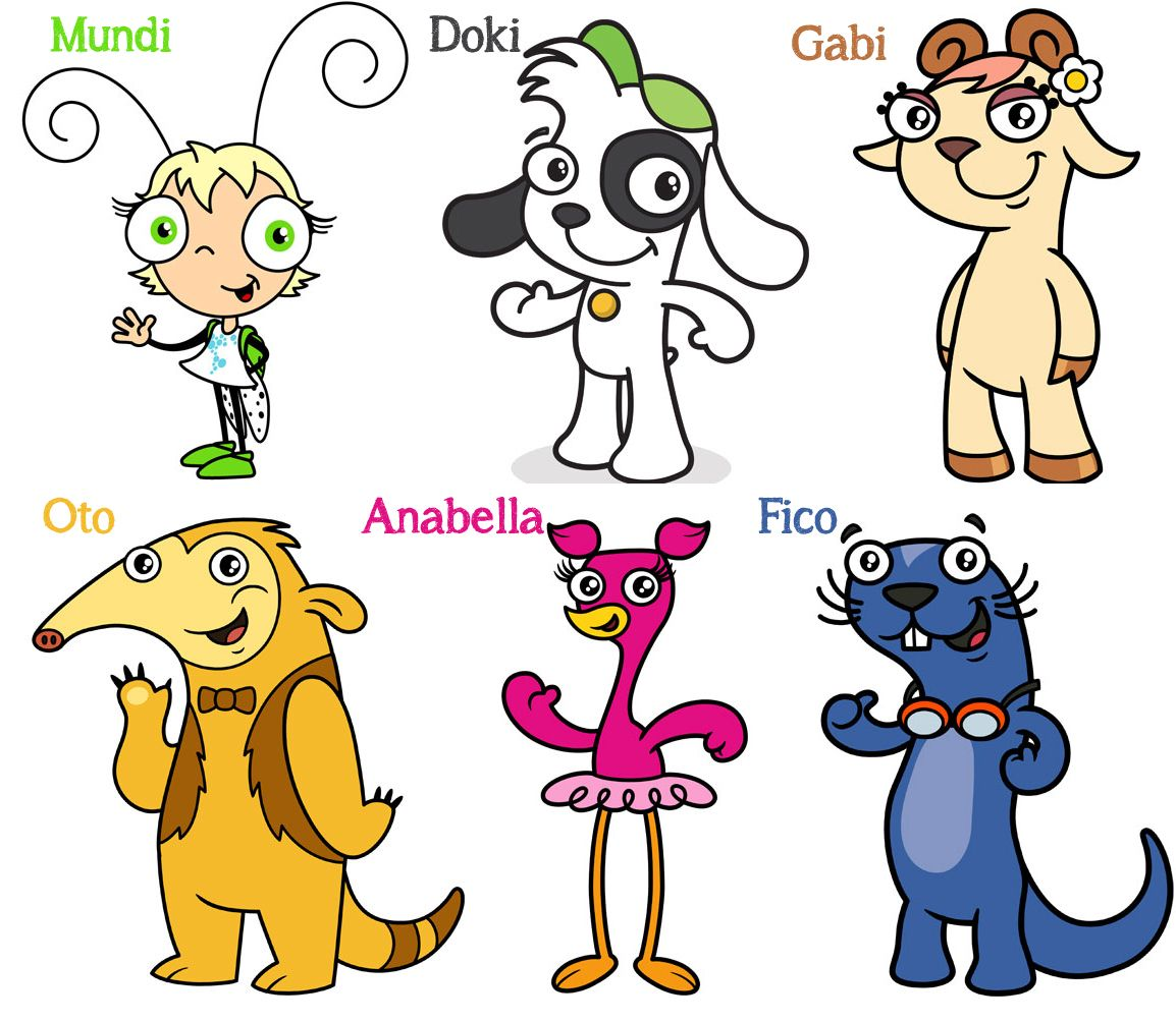Doki y todos sus amigos /Doki and Friends | Cartoons | Pinterest ...