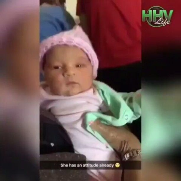 Actual footage of me throwing shade fresh out the womb @Regrann from @pussalina - 🔊🔊🔊 #MOOD #ANTI #Regrann #sasshole #restingbrittface #bleak #sarcasm #realshit #laughingwhilecrying #toolazytohook