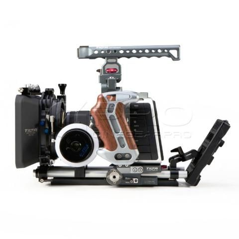 TiLTA ES-T07-B 15mm Rail Support Rig For BMCC/BMPC 2K/4K Blackmagic Cinema Camera