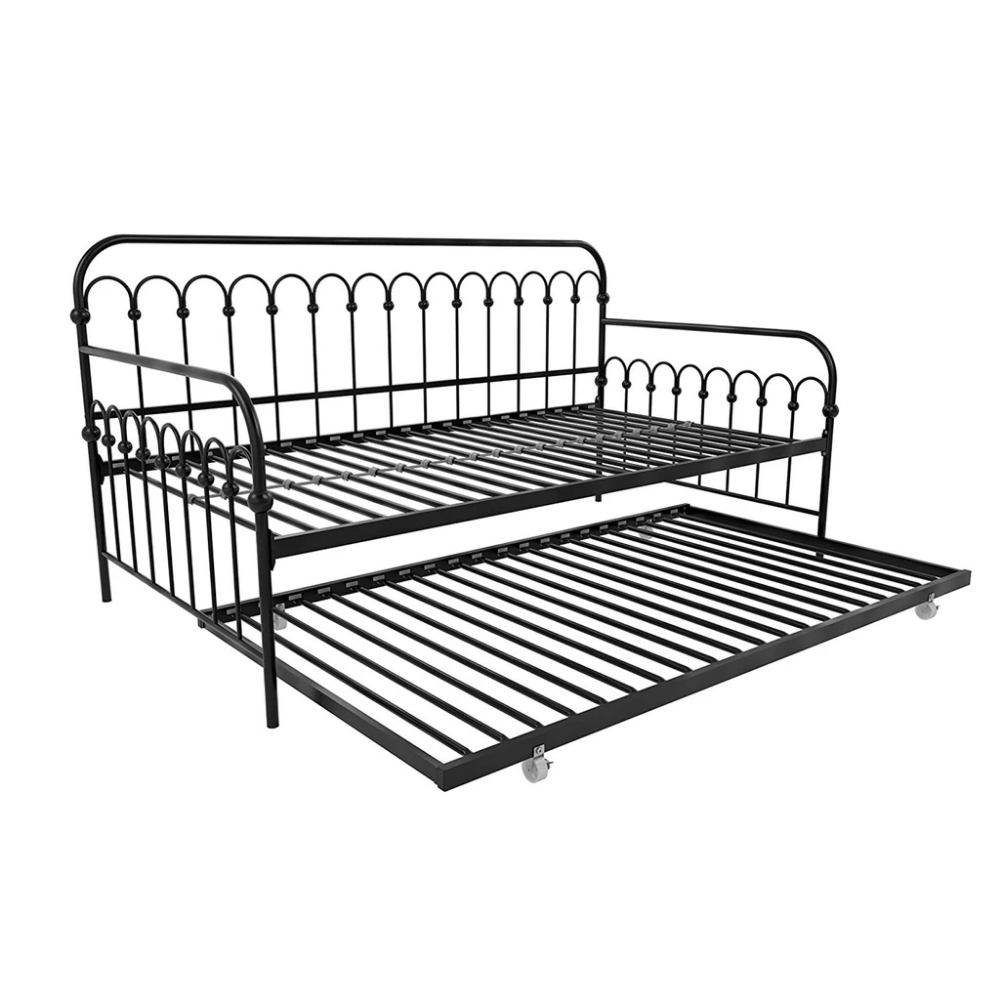 Brightpop Trundle Bed (With images) Daybed with trundle