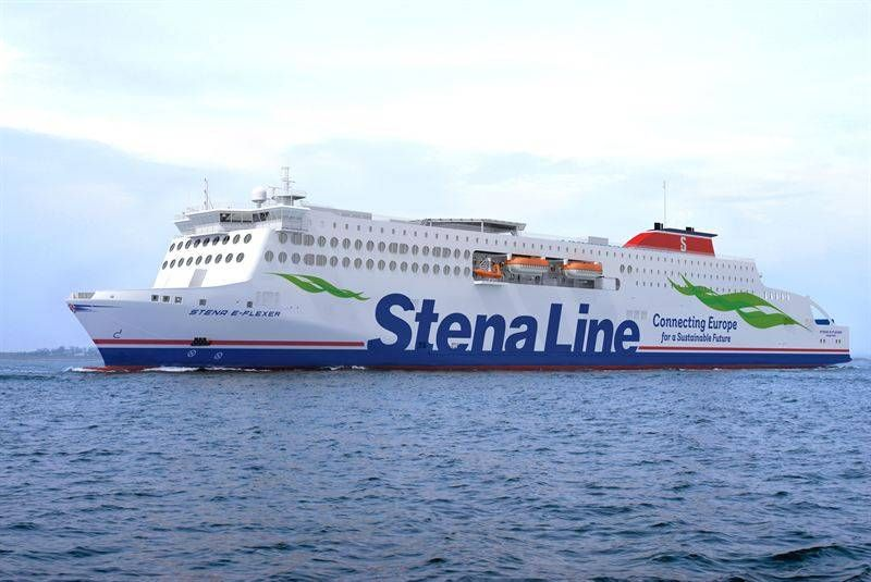 Our Belief Is That A Reduced Environmental Impact Is Also Essential For Long Term Profitability Said Stena Line 39 S Ceo Niclas M Route Cruise Ship Vessel