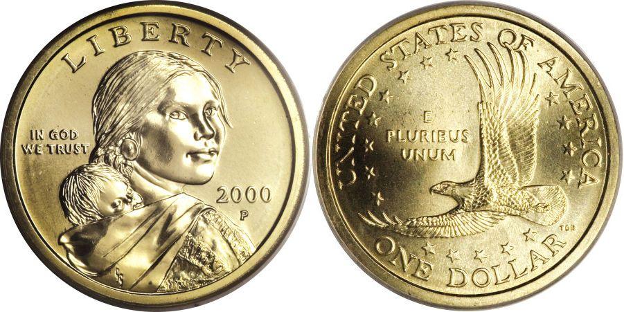 2000 P Sacagawea Cheerios Dollar Value Sacagawea Dollar Gold Dollar Coin Value Coins