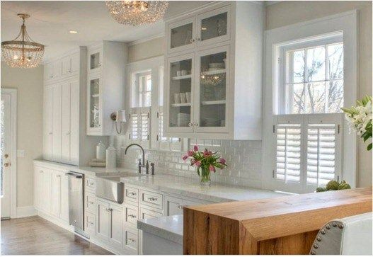 Kitchen Window Shutters Aid Convection Oven Plantation In House Ideas Galley
