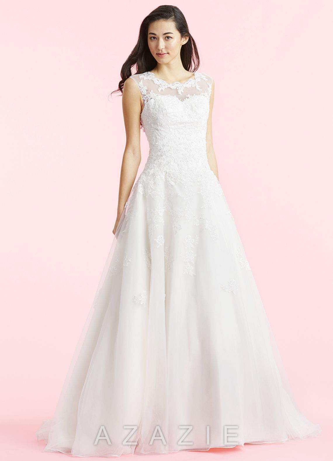 8c4f846819 Shop Azazie Bridal Gown - Fantasia BG in Organza. Find the perfect wedding  dress for your big day. Available in regular or plus sizes 2-26W at Azazie.