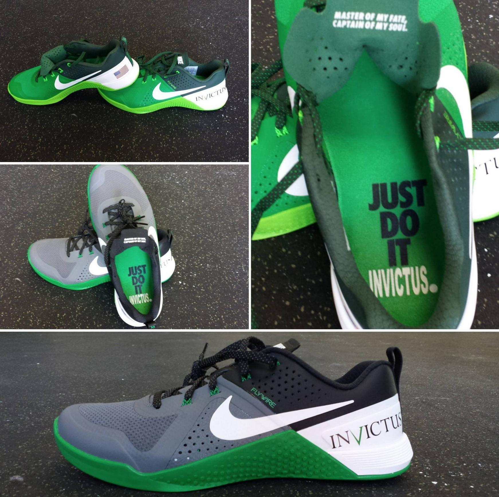 New Men\u0027s Nike Metcon 1 Training Running Shoes Black 704688 001 Size 9.5