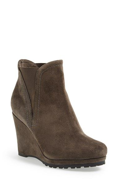 10233d723480 Free shipping and returns on VANELi  Jamilla  Suede Wedge Boot (Women) at  Nordstrom.com. Inspired by the classic Chelsea boot