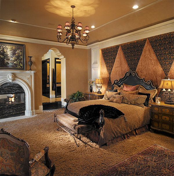 Modern Beautiful Bedrooms Interior Decoration Designs: 20 Luxurious Design Of Mediterranean Bedroom