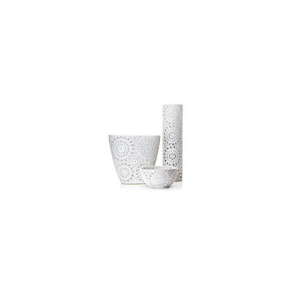 Vases | Accessories | Z Gallerie (1.610 RUB) ❤ liked on Polyvore featuring home, home decor, vases, fillers, decor, white, backgrounds, white vase and white home decor