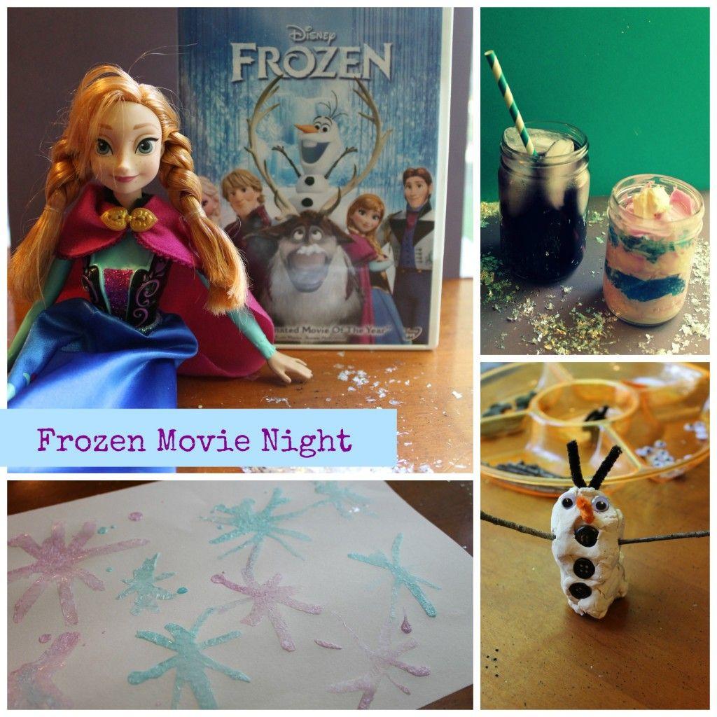 Frozen Movie Night!