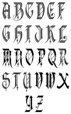 Calligraphy Alphabets 10