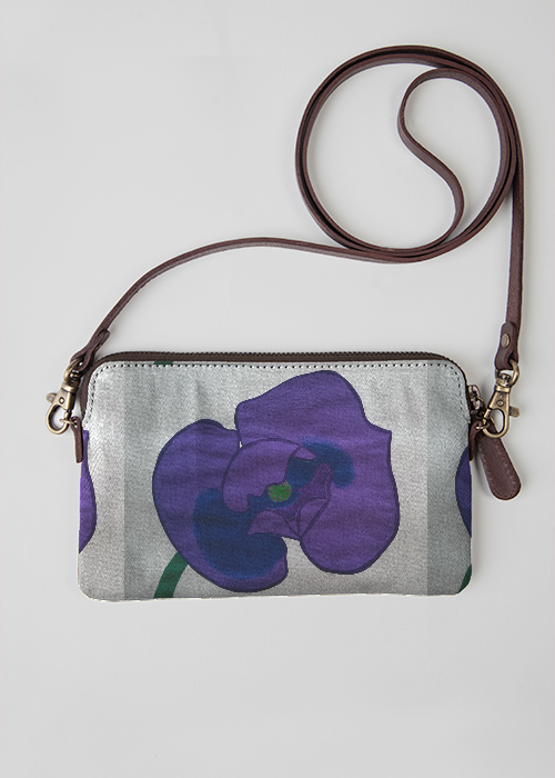 VIDA Statement Clutch - lilac morning by VIDA