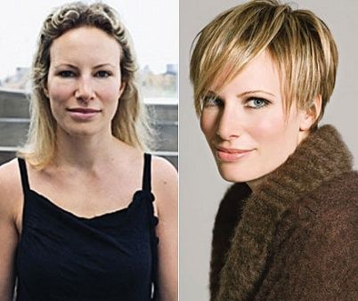 Wow That S A Makeover Hair Makeover Short Hair Styles Before And After Haircut