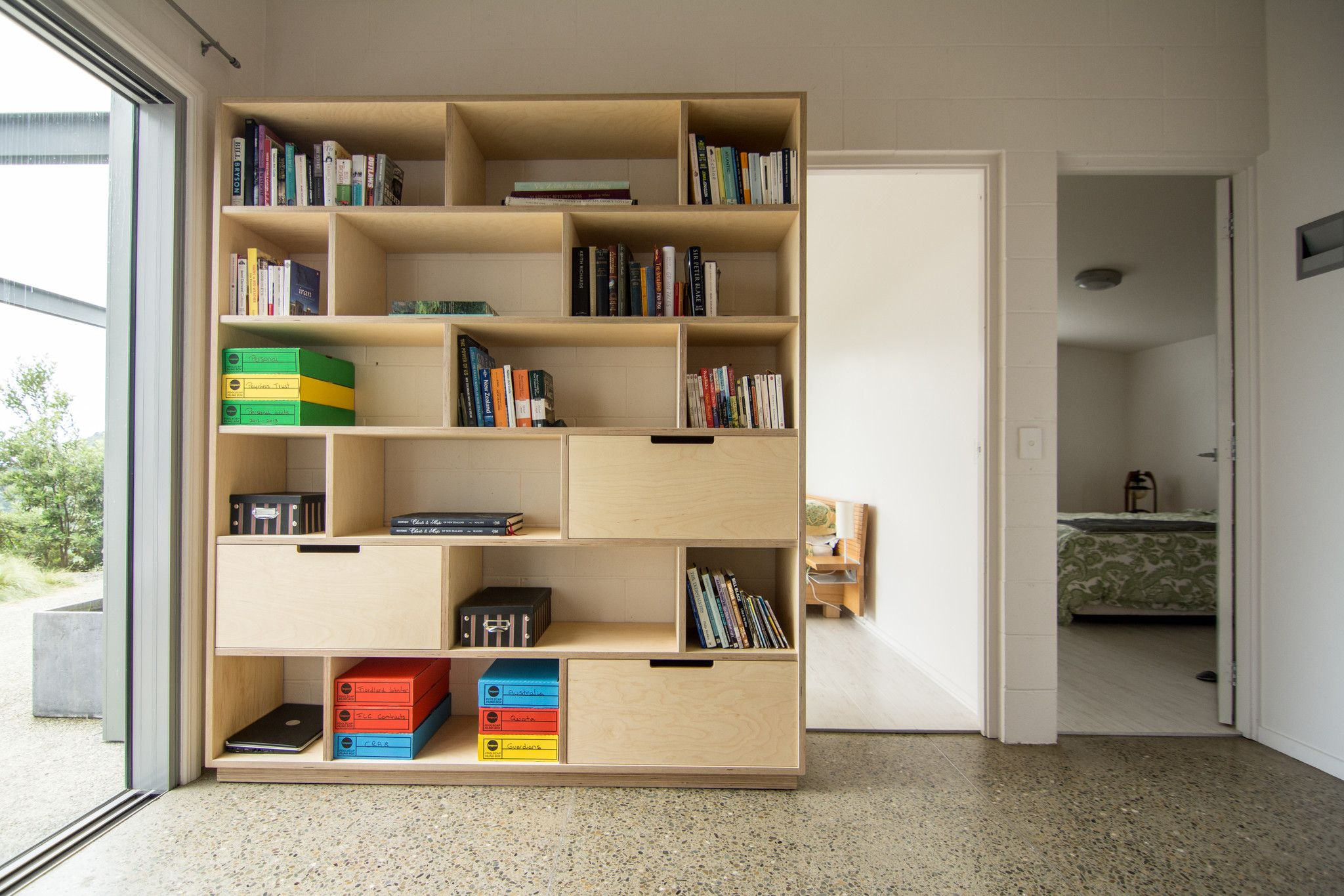 home office bookshelf. Plywood Bookshelf And Office Storage Home N