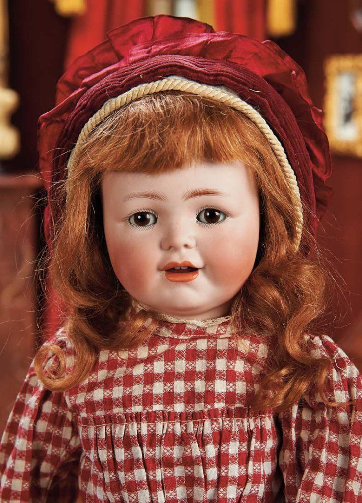 Lot: German Bisque Character, 612, by Bergmann with Toddler Body 900/1200 | Proxibid Auctions