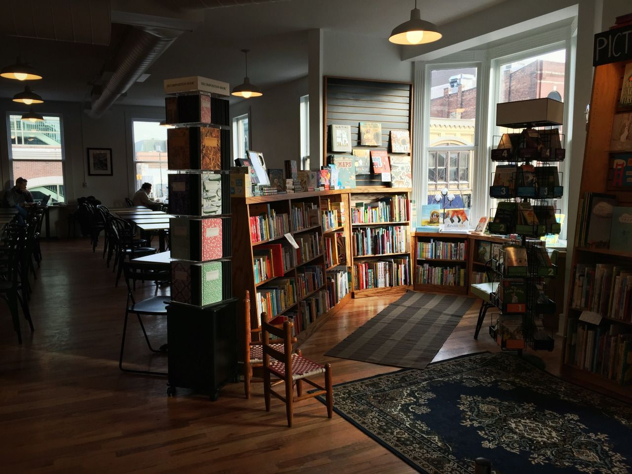 literatibookstore:  A quiet, soft winter morning in the kids area.