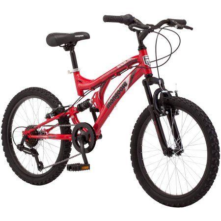 20 inch Mongoose Jigsaw Boys\' Mountain Bike, Red   Pinterest   Boys ...