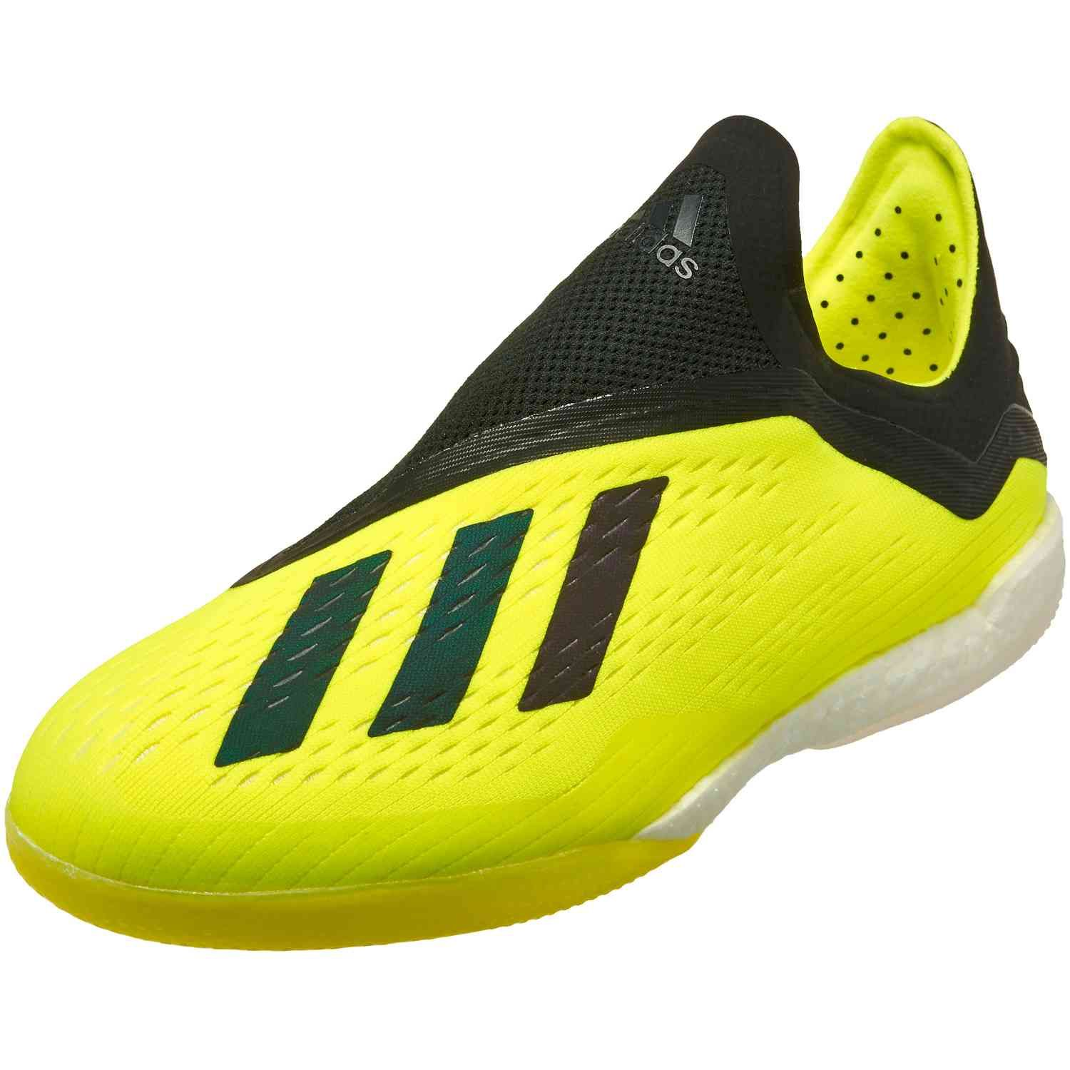 promo code 0f6f7 47f0e Team Mode pack adidas X Tango 18 indoor soccer shoes. Get them from  www.soccerpro.com