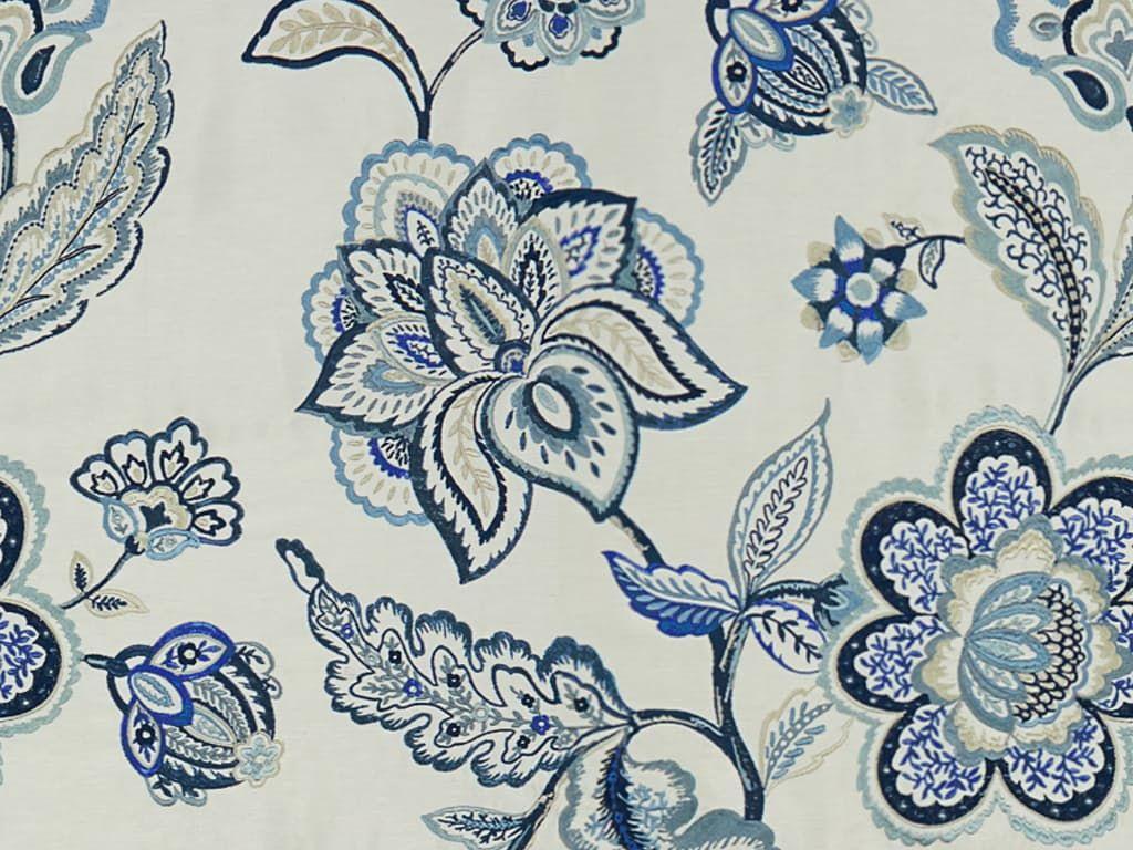 Lee Jofa FLORES DUSK/BLUE 2015144.515