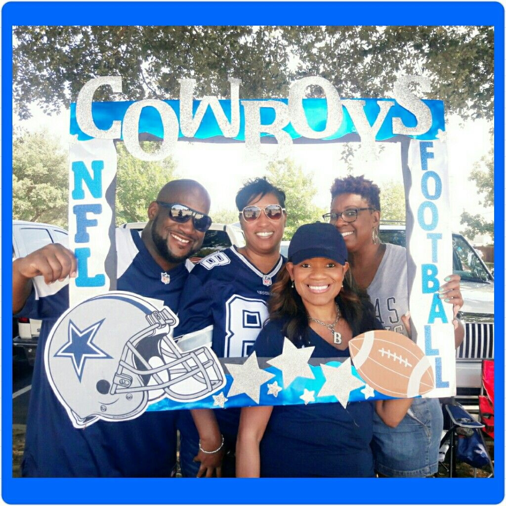 Selfie Frame Dallas Cowboys Tailgate Party Decoration Tailgate Party Decor Dallas Cowboys Birthday Dallas Cowboys Party Dallas Cowboys Birthday Party
