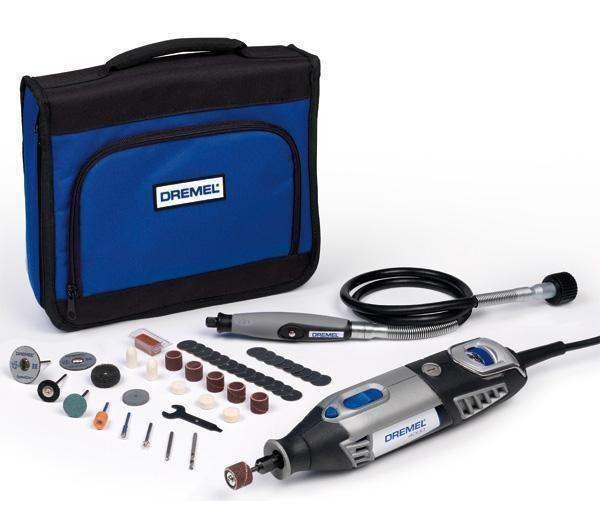 Dremel Kit F0134000ja Herramienta Multiuso 4000 175 W 45 Accesorios Bolsa Protectora Flexible