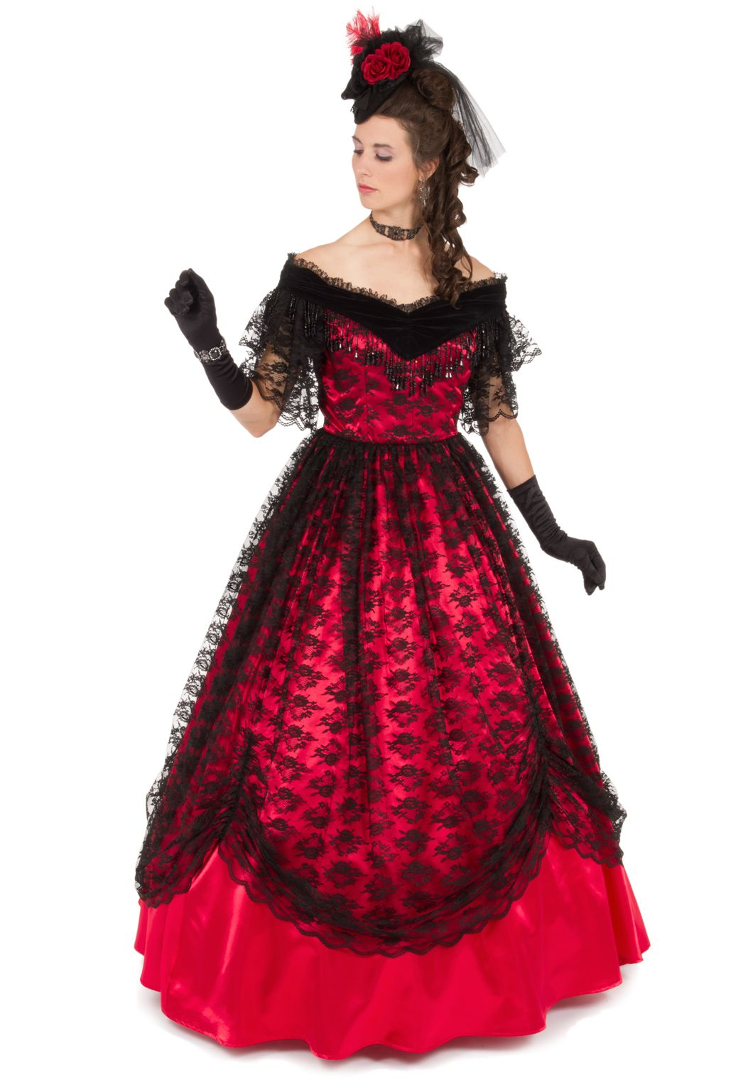 c73ae62ea526 Victorian Civil War Styled Ball Gown in 2019 | Civil War-Victorian Costumes  | Ball gowns, Fashion, Southern belle dress