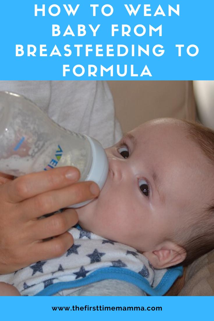 how to wean baby from comfort nursing