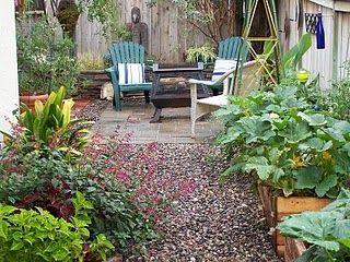 small L-shaped yard | Garden, Narrow garden, Outdoor gardens on ideas for rectangular backyards, ideas for small backyards, ideas for large backyards,