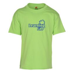 Kids feel cool in this comfortable logo'd T-shirt.