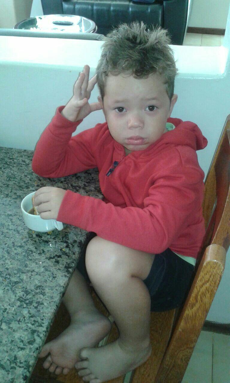 Meu sobrinho Gabriel