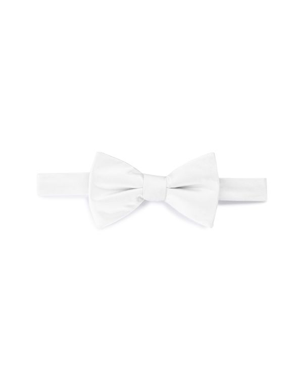The Men's Store at Bloomingdale's Solid Satin Pre-Tied Bow Tie