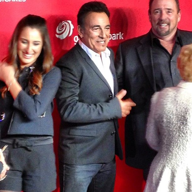 Man of the hour and #MusiCares Person Of The Year honoree Bruce Springsteen!! - @thegrammys- #webstagram