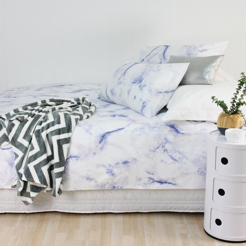 Marble Duvet Cover Set - Bed Bath & Beyond | Dream Bedroom ...