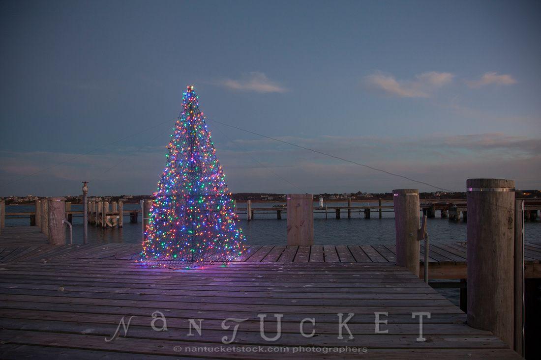 Christmas (and Stroll) Christmas Tree on Nantucket