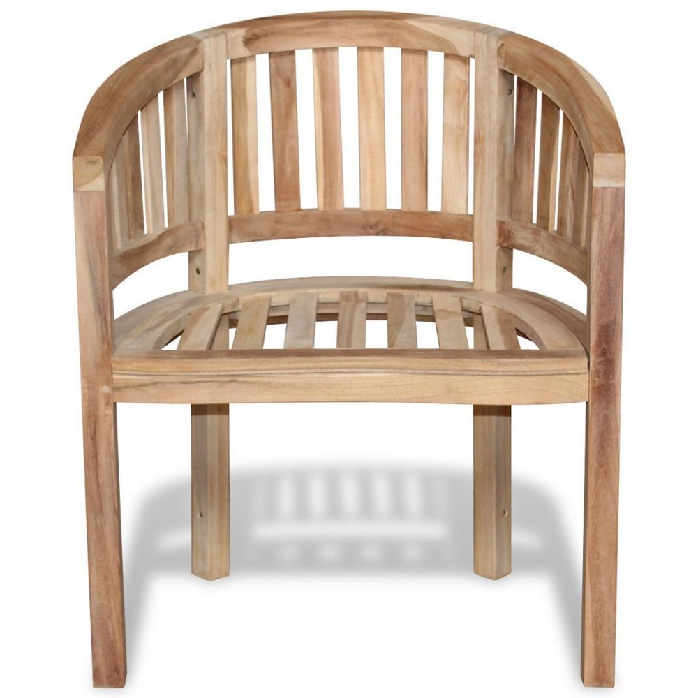 Stupendous Wooden Outdoor Dining Armchair Patio Teak Half Round Chair Pdpeps Interior Chair Design Pdpepsorg