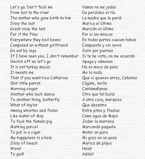 Resultado De Imagen Para Frases En Ingles Traducidas Al Espanol