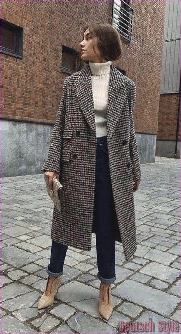 40 schöne Winter-Outfits, die Sie besitzen müssen #modafemenina