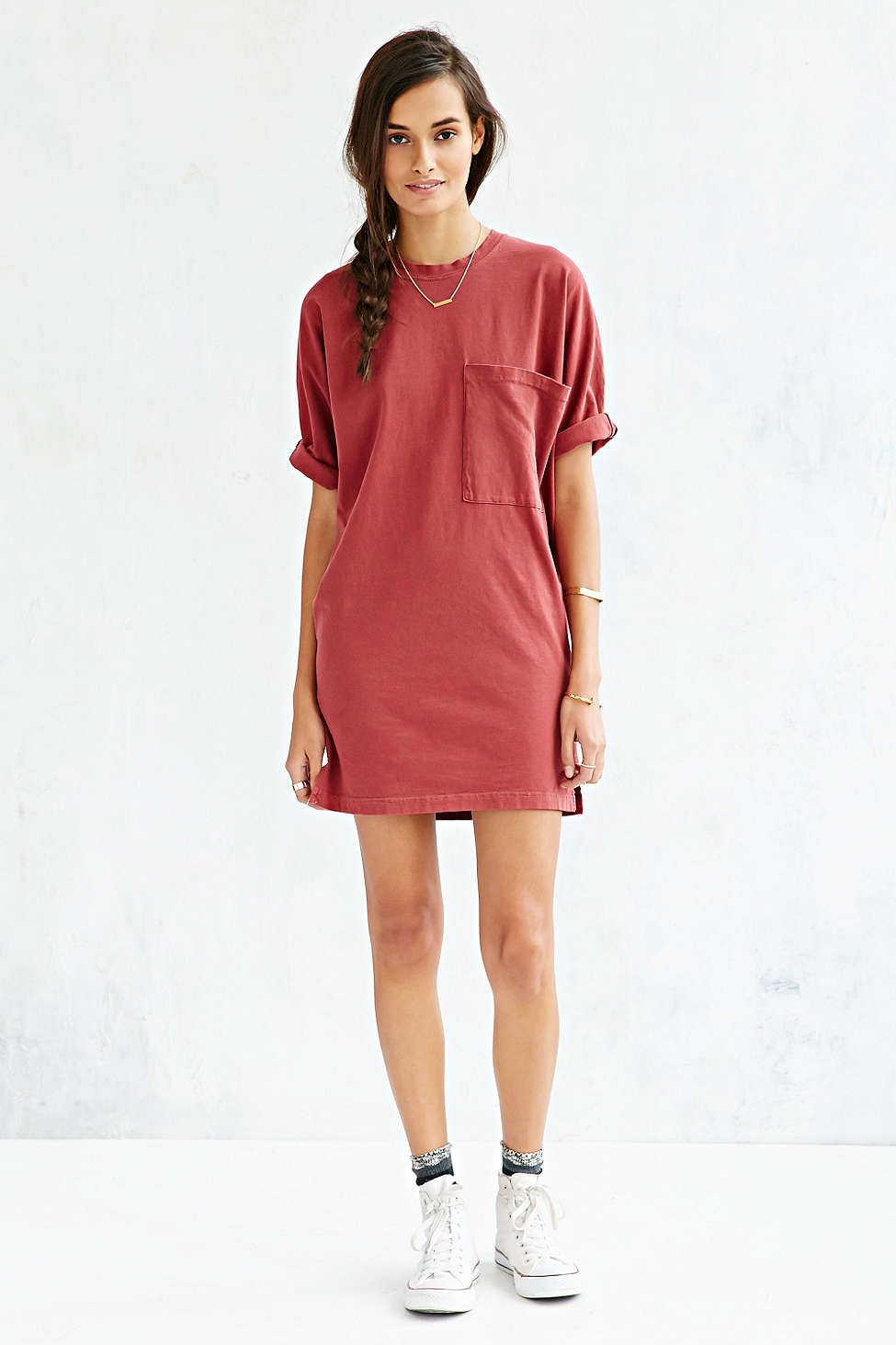 1f2a292e5e BDG Most Comfy Tee Dress - Urban Outfitters