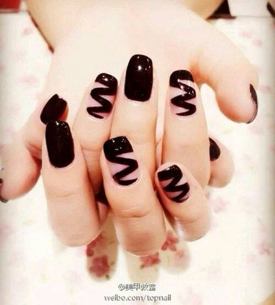 nail polish designs ideas for new year 2015 005 fashion elan