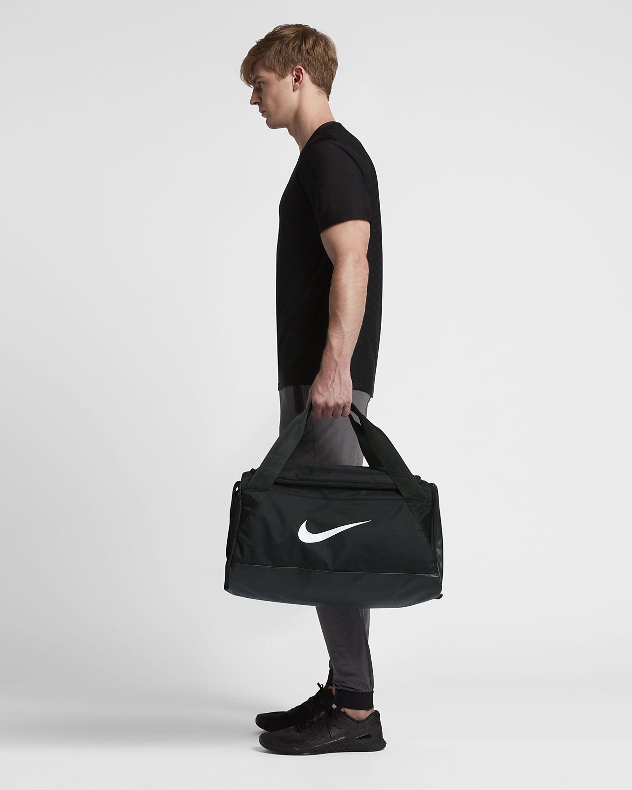 dbe4b37f1418 Nike Brasilia Training Duffel Bag (Small) - Black Black White Os ...