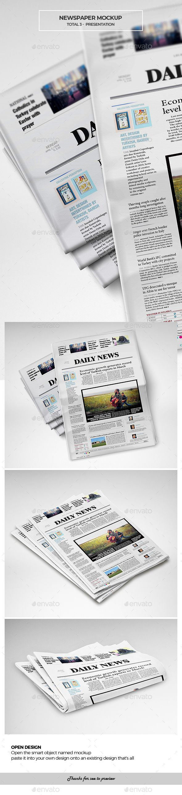 Download Newspaper Mockup Mockup Graphic Design Templates Print Mockup