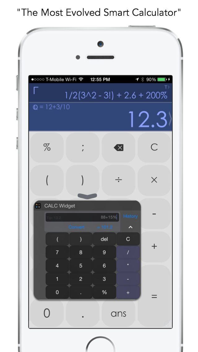 CALC Smart The Resourceful Scientific Calculator for