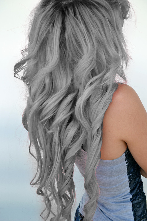 silver hair - Google Search | Hair Style Ideas | Pinterest ...