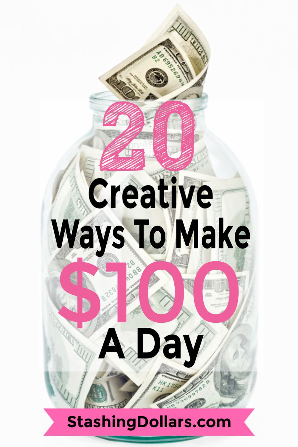 How to Make 100 Dollars a Day Extra money, How to make