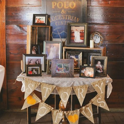 Story Of Us Photo Table