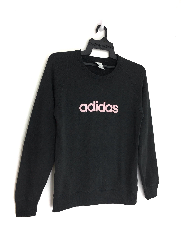 Sale Adidas Sweatshirt Pink Spellout Black Color Etsy Adidas Sweatshirt Sweatshirts Pink Sweatshirt [ 3000 x 2250 Pixel ]